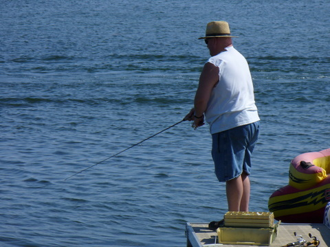 Walled Lake fishing Oakland County Lakes